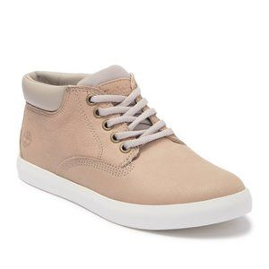Timberland Dausette Cupsole Beige Leather Lace Up